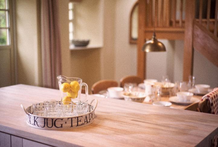 Emma Bridgewater, Country cottage kitchen, self catering near Edinburgh, Scotland, Byre Cottage, Pentland Hills