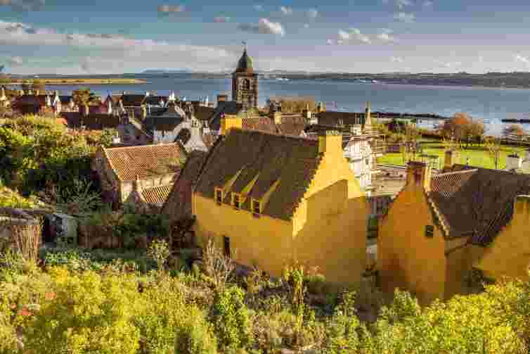 Culross, historic village in Fife, Scotland