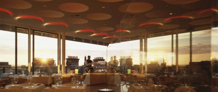 Harvey Nichols Edinburgh, eat out, dining with a view, restaurant, Edinburgh, Scotland